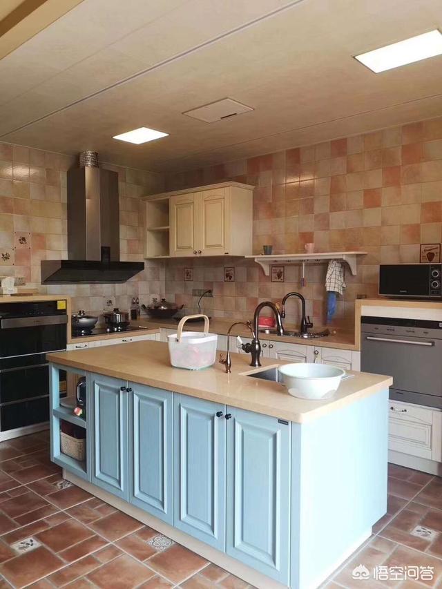 开放式厨房,厨房,餐厅的隔断柜如何设计?