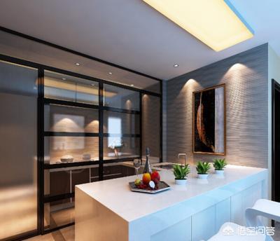 客厅,餐厅,厨房一体化,做成开放式厨房,现在怕跑烟想做隔断,怎么办?
