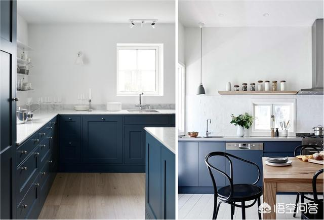 厨房颜色若何搭配才更美妙新颖?