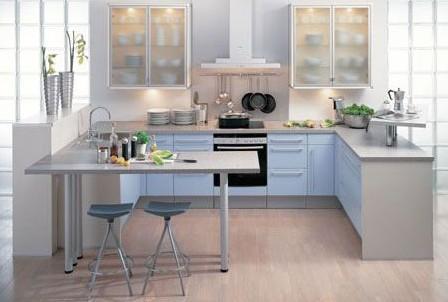 (最新)开放式厨房拆修效果图鉴赏