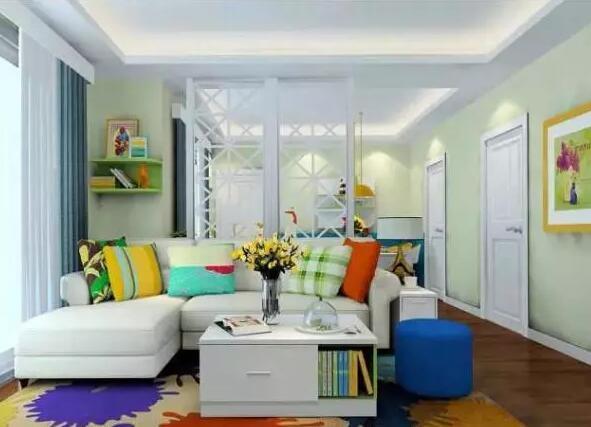 小户型客厅的隔绝距离应若何设想?