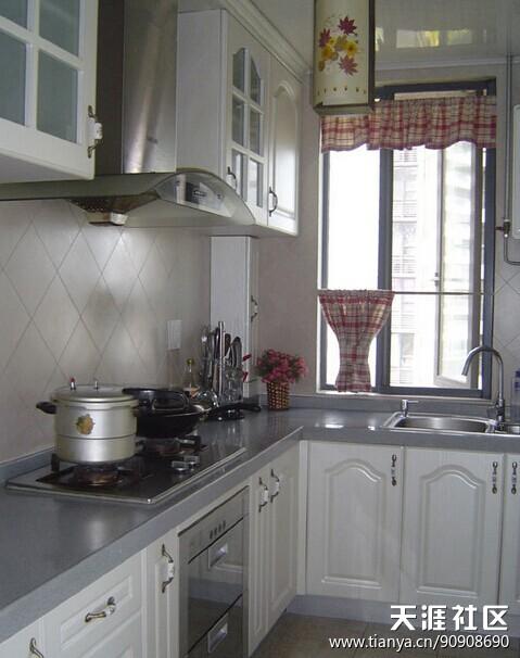 4平米小厨房拆修效果图(转载)