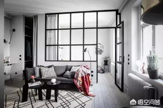 卧室和客厅连着,用什么隔绝距离比力好?