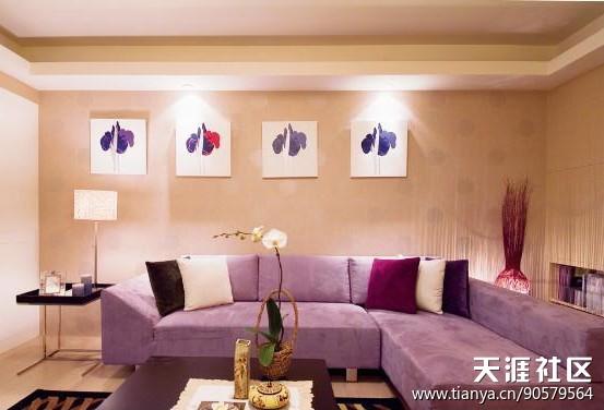 芳欣粉饰分享多个小客厅拆修效果图